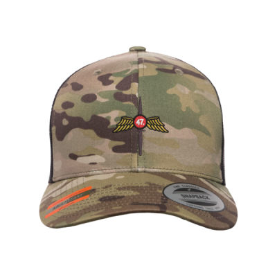 4/7 Multicam Snap Back Retro Trucker Cap Thumbnail